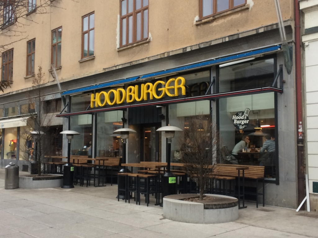 Hitra prehrana Hoodburger - Ljubljana 2016